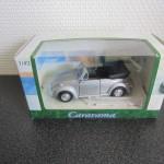 Volkswagen Kever cabrio grijs 1op43 6